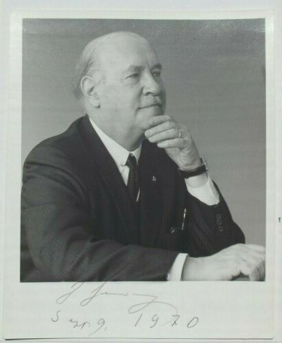 Igor Sikorsky Aviation Pioneer & Designer Helicopters & Aircraft Signed Photo