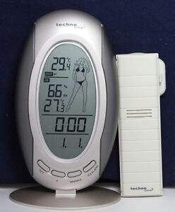 Wireless Weather Stations Indoor Outdoor Thermometer & Remote Sensor I WS-9723