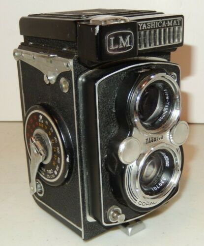YASHICA MAT LM f3.5 80mm 120 6x6 TLR CASE
