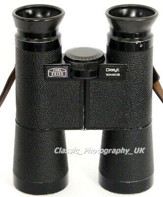 Carl Zeiss DIALYT 10x40 B Professional Grade BINOCULARS 10 x 40 B in Good Cond.