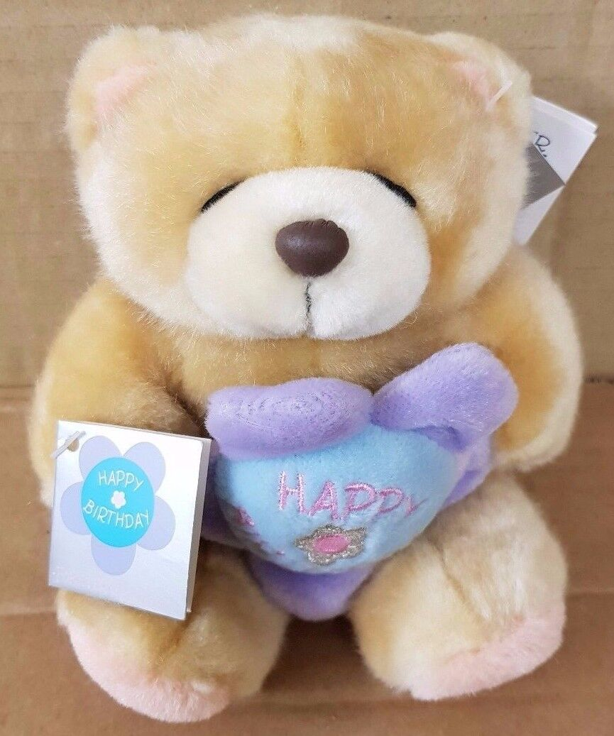Pa2 Forever Friends Happy Birthday Stuffed Soft Teddy Bear With