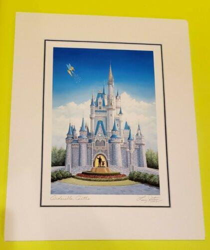 Larry Dotson Signed Walt Disney World Cinderella