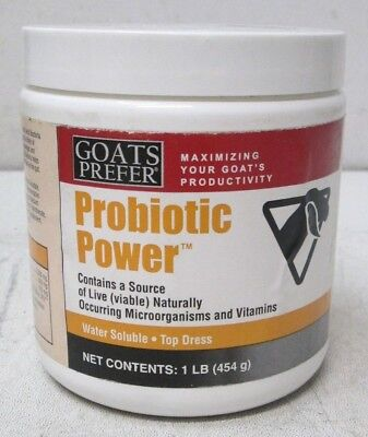1lbs Jar Goats Prefer Probiotic Powder 85-400 New Free Shipping
