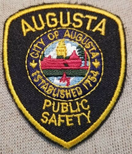 ME Augusta Maine Police Patch (2.75In Mini Patch)