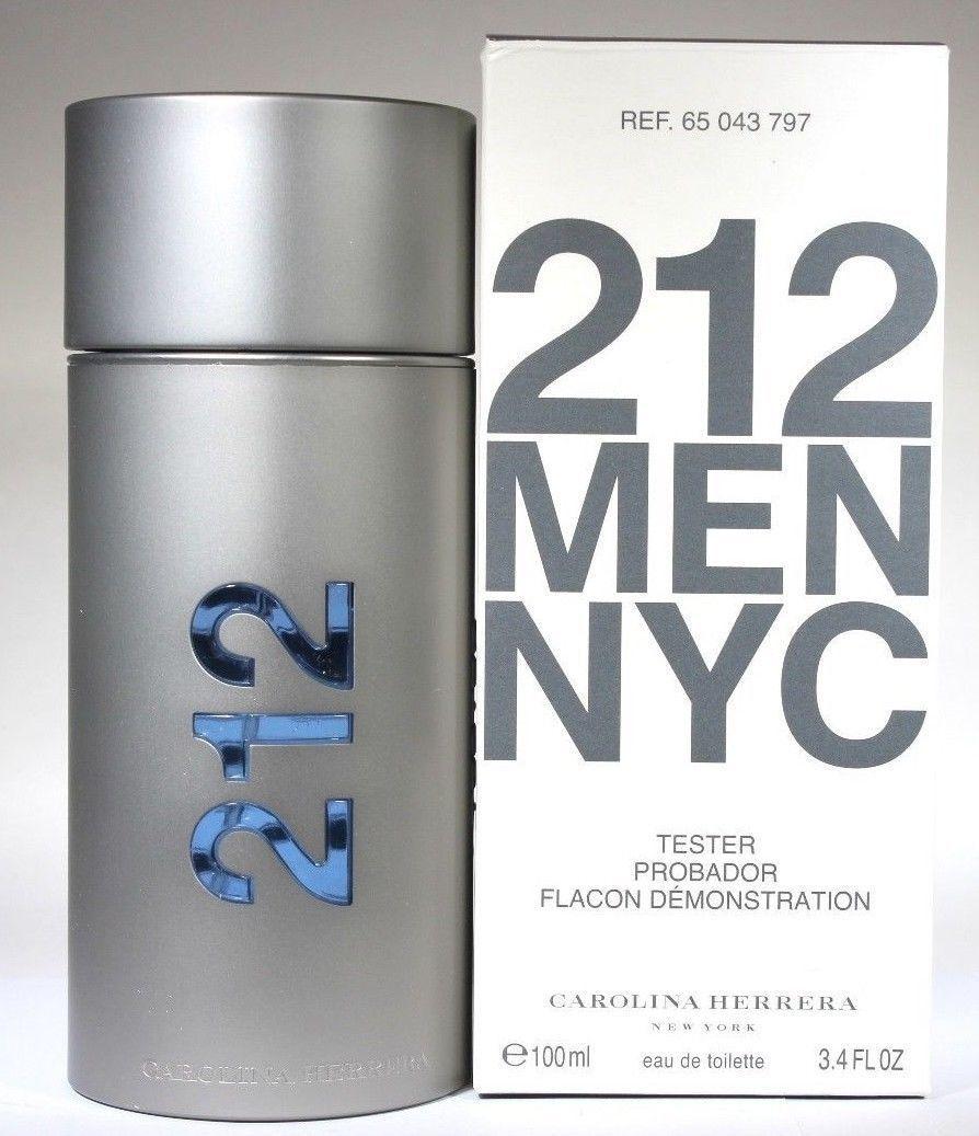 212 by Carolina Herrera for Men - 3.3 oz EDT Spray