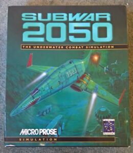 Subwar 2050 A Microprose Game for Commodore Amiga 1200 tested & working