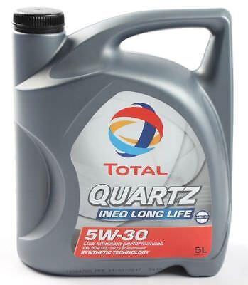 Total Motoröl Quartz Ineo Long Life 3 5W30 5 Liter VW 50400/50700 ACEA C3 BMW LL