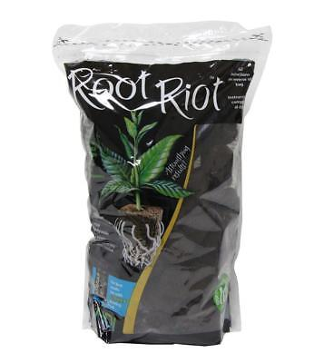Organic Seed Starter - Root Riot Replacement Cubes - Organic Seed Moistened Starter Plugs - 500 Pack