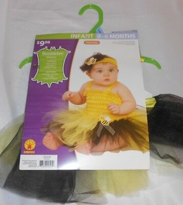 Rubies Infant Costume Dress up Bumblebee 0 to 6 Months  New in Package