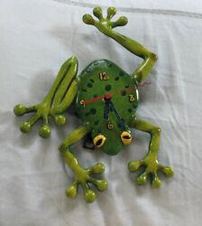 Allen Designs Frog Fly Clock