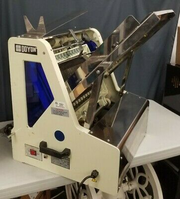 Sinmag Sm-302 Heavy Duty Commercial Counter Top Bread Slicer Machine Doyon