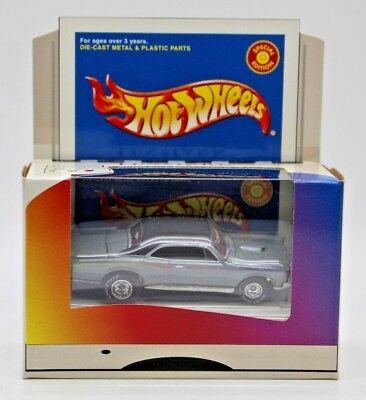 Hot Wheels Lexmark 2000 Special Edition Silver 1967 Pontiac GTO. NEW SEALED.