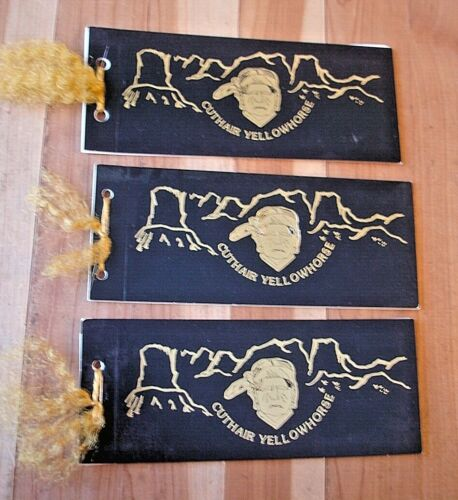ORIGINAL BUCK KNIFE YELLOWHORSE CUTHAIR SERIES BOOKLETS THAT GO WITH THE KNIVES