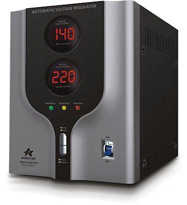 Norstar 5000 Watt Voltage Transformer & Automatic Voltage Regulator 110V<->220V