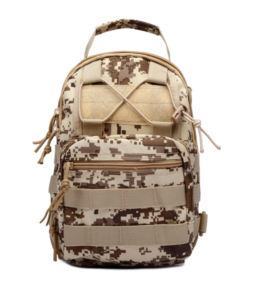 8L/10L/30L/55L/80L Outdoor Military Tactical Camping Hiking Trekking Backpack  8L Digital Desert Camo