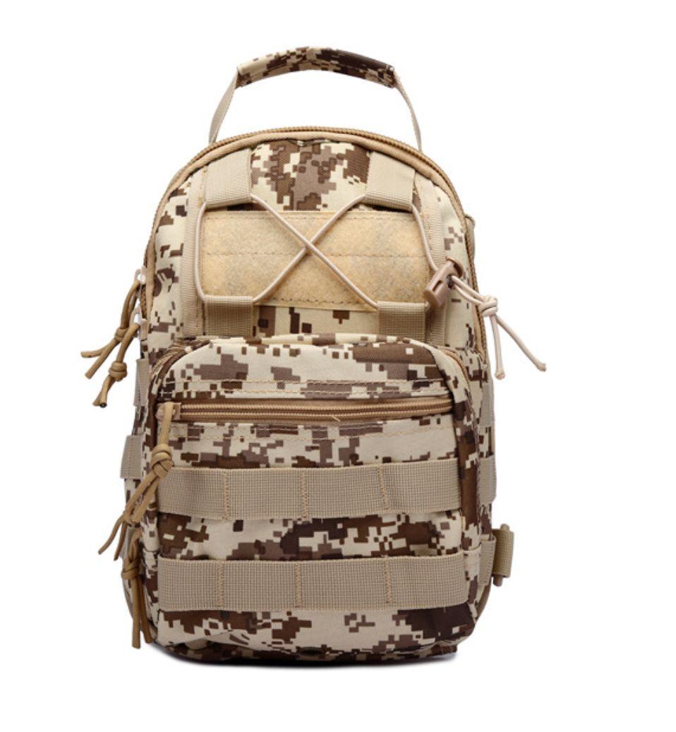 Outdoor Shoulder Military Tactical Backpack Travel Camping  Hiking Trekking Bag Desert Digital Camo