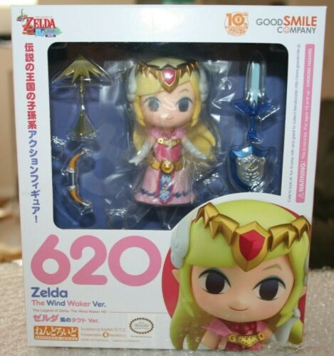 Good Smile Nendoroid 620 Legend of Zelda Wind Waker Figure AUTHENTIC BRAND NEW
