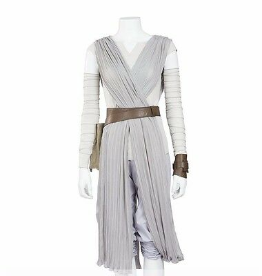 Rey Adult Costume Complete The Force Awakens Cloak Halloween Cosplay Wars Star (Star Wars Costumes Women)