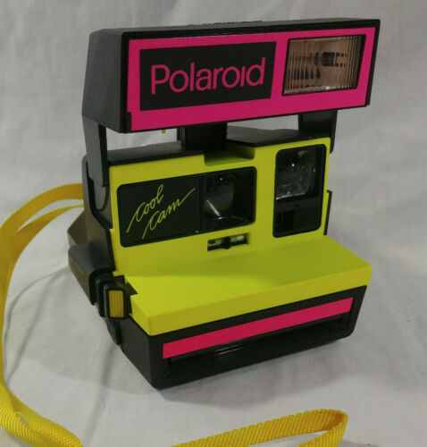 Polaroid Neon Pink & Yellow Cool Cam 600 Camera Tested
