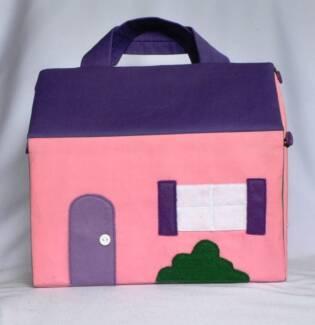 Brand new handmade travel dolls house