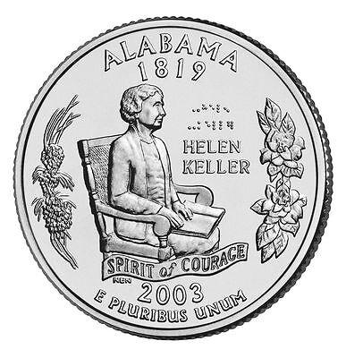 2003 P Alabama State Quarter BU 2003 Alabama State Quarter