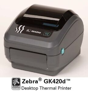 Zebra GK420d Direct Thermal Label Printer GK42-202510-000 G Series Enhanced