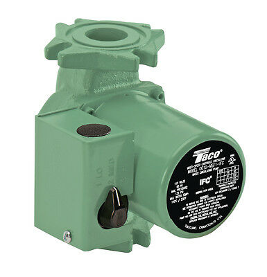 Taco 0010-msf1-ifc Cartridge Circulator 3 Speed Pump With Integral Flow Check