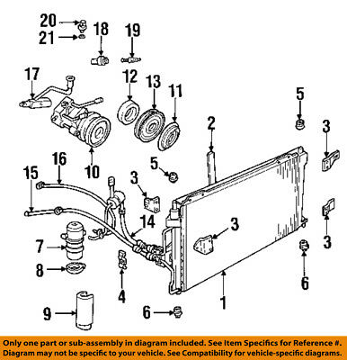 FORD OEM AC A/C Air Conditioner-Suction Line 1W1Z19867AB