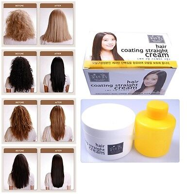 Hair coating magic straight cream Hair Straightening Cream Permanent Rebonding