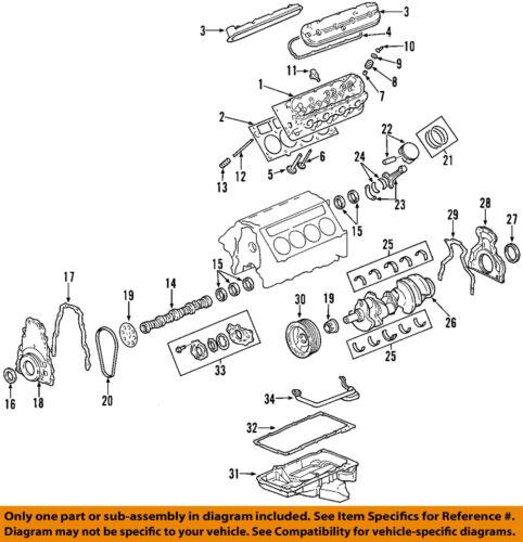GM OEM-Engine Piston Ring 19208677
