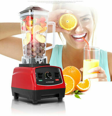 Bpa Free 3hp 2200w Heavy Duty Commercial Blender Mixer Juicer Smoothie Machine