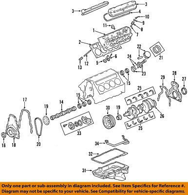 GM OEM-Engine Timing Cover 12600326