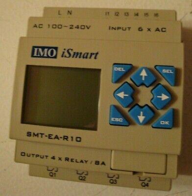 Imo Ismart Plc Smt-ea-r10 24vd Programmable Mini Plc