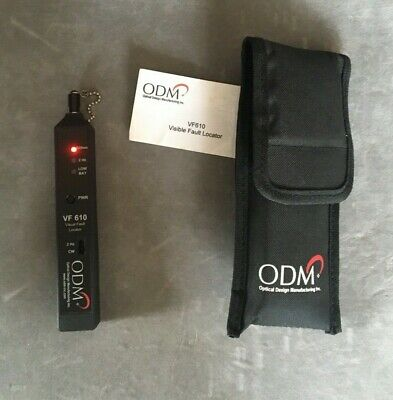 Odm Vf 610 Fiber Optic Laser Visual Fault Locator