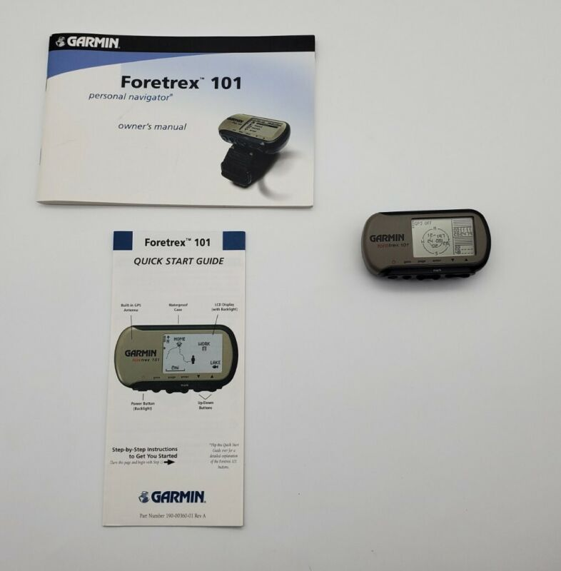 Garmin Foretrex 101 GPS Exercise Fitness Tracker - Watch Only