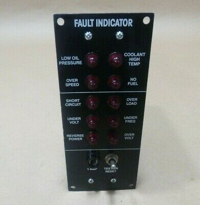 Mep 15kw 30kw Tactical Generators Fault Location Indicator 6625-00-003-0976