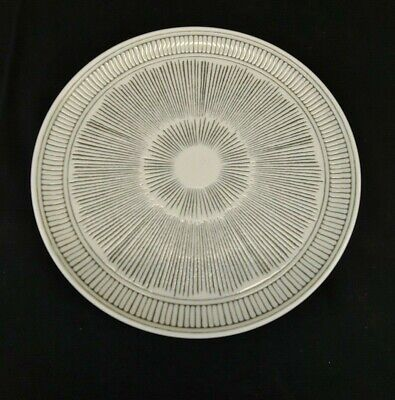 ROYAL DOULTON ED by Ellen Degeneres Gray Line, Salad Plate, New Never Used Royal Doulton Line