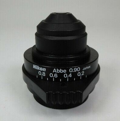 Nikon Abbe 0.90 Microscope Condenser - For Nikon Eclipse Microscopes