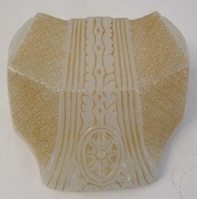 Vintage Art Deco Glass Slip Shade for ceiling Light Fixture