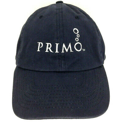 Primo Water Dispenser Hat Script Logo Crew Cap Employee Uniform Baseball Trucker