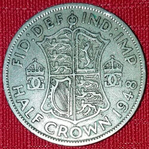 1948 British Half Crown - King George VI - UK