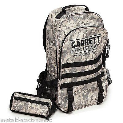 Garrett Metal Detecting Daypack with Utility Pouch Use for Detector Accessories