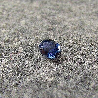 UNHEATED Natural Cornflower Blue Montana YOGO Sapphire Documentation Oval Gem BN