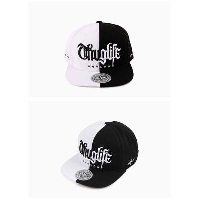 c708e777e53 Unisex Mens Flipper Half and Half Thug Life Baseball Cap Snapback Hats Black