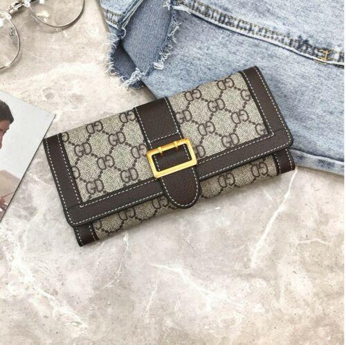 Fashion Lady Women's Wallet Leather Handbag Clutch Card Hold