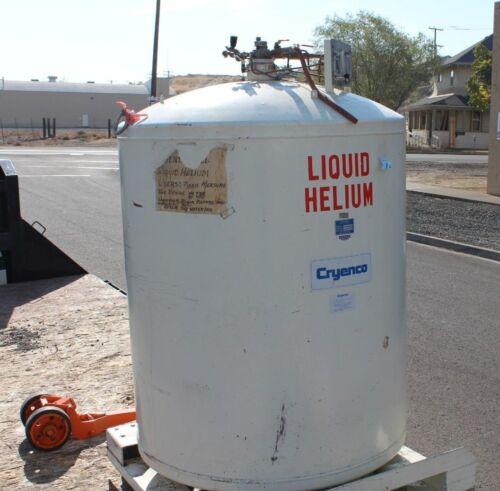 Cryenco D100772 Liquid Helium Tank 500L P/N A3542305