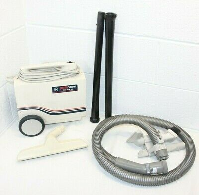 Hoover Portapower Canister Vacuum Cleaner & Attachments S1077 WORKS GREAT! look