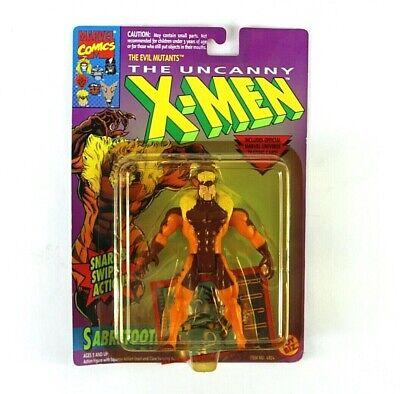 Uncanny X-Men Sabretooth Figure 1993 Toy Biz Marvel Comics Evil Mutants