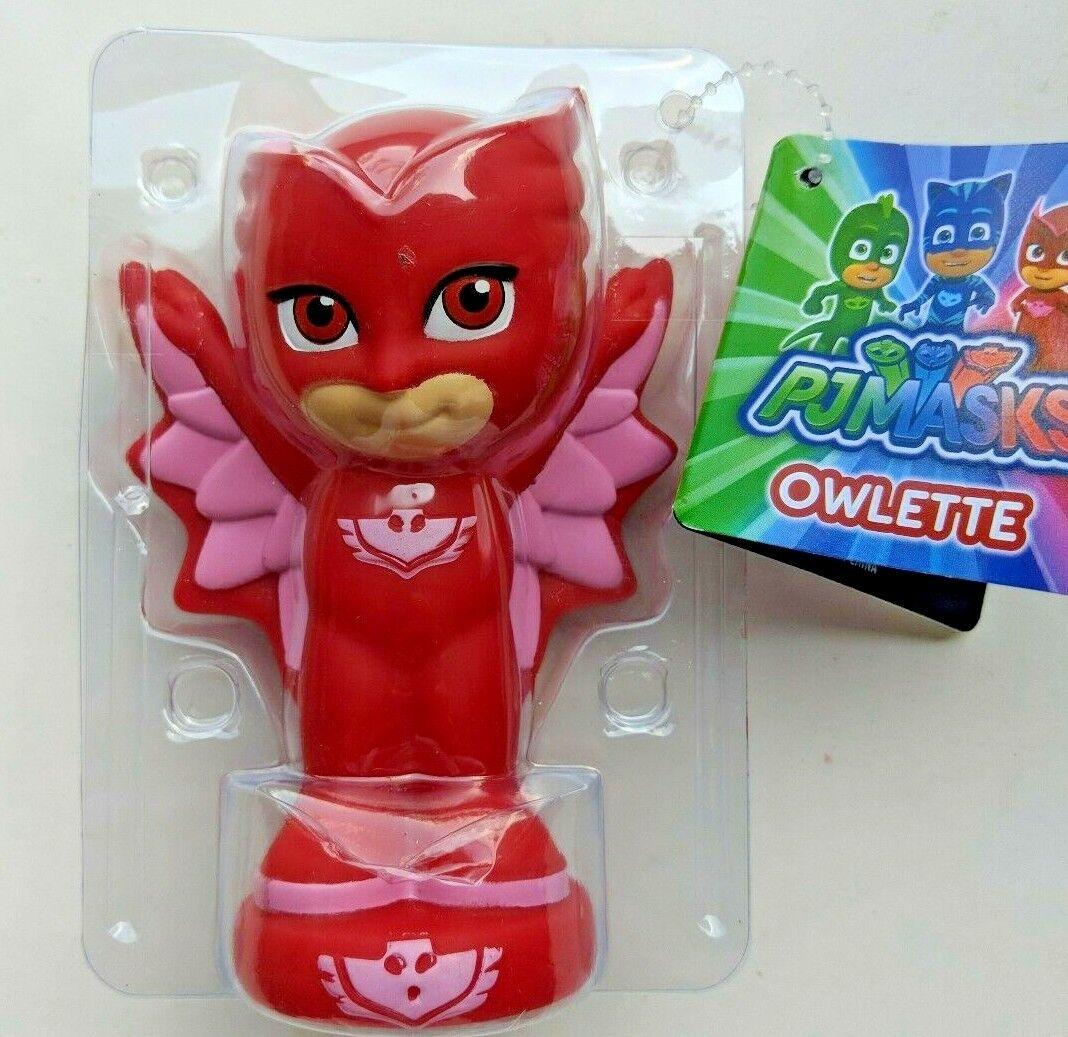 PJ Masks Red Bath Squirters - OWLETTE - Brand New - Free Shi
