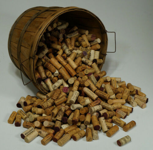 500 all 100 % NATURAL wine CORKS -over 200 AUTHENTIC labels from anEXOTIC resort